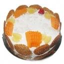 Pineapple Eggless Cake (Oven Fresh)