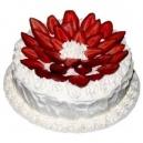 Strawberry Eggless Cake (Oven Fresh)