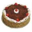 Black Forest Eggless Cake (JM Bakery)