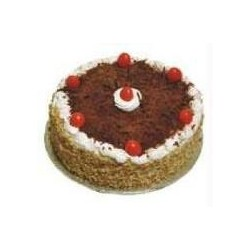 Black Forest Eggless Cake (JM Bakery)