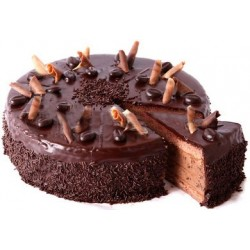 Chocolate Eggless Cake (JM Bakery)