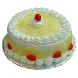 Pineapple Eggless Cake (JM Bakery)