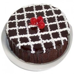 Chocolate Eggless Cake (Jayaram Bakery)