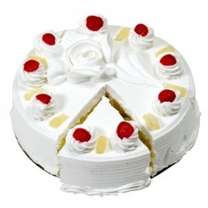 Pineapple Eggless Cake (Jayaram Bakery)