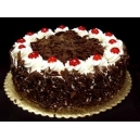 Black Forest Eggless Cake (British Bakery)