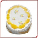 Pineapple Eggless Cake (British Bakery)