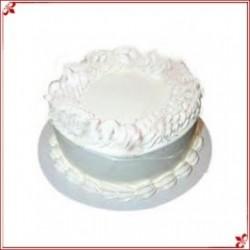 Strawberry Eggless Cake (British Bakery)