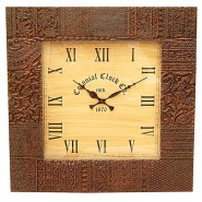 Traditional Square Wall Clock