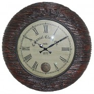Royal Wooden Look Wall Clock