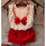Red n White kids wear