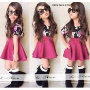 Peach beautiful kids wear