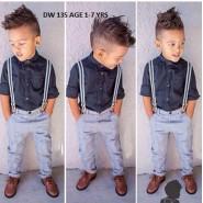 Handsome boy wear