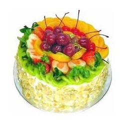 Mixed Fruits Cake 1 kg (Berry N Blossom)