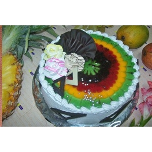 Fruit Of The Forest Cake 1 kg (Just Bakes)