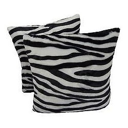 Chunmun fur Pillow zebra...