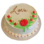 Vanilla Eggless Cake - 1Kg (McRennett)
