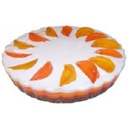 Orange Eggless Cake 1 kg (Berry N Blossom)