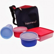Tupperware Best 4 Containers Lunch Box(1200 ml)