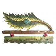 Natural Leaf Design Key Holder