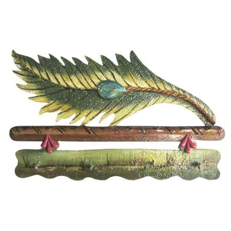 Natural Leaf Design Key Holder