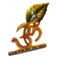 Designer Handmade Om Key Holder