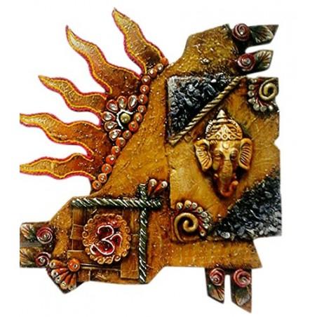 Ganesha Caligrafy For Wall Décor