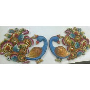 Attractive Peacock Design Wall Hanging