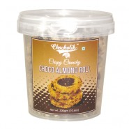 Choco Almond Roll Cookies 300gm - Chocholik Cookies