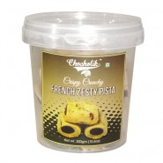 French Zesty Pista Cookies 300gm - Chocholik Cookies