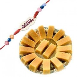 Mysore Pak with friendship band