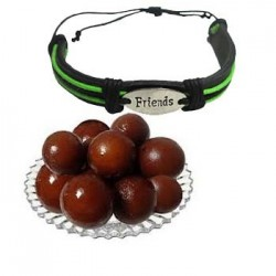 Gulab Jamun with friendship band