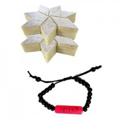 Kaju Burfi- 1kg with friendship band
