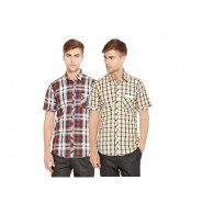 Mens Casual Shirts ( Combo of 2 )