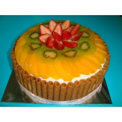 Wafer Roll Fruit Cake (2 Pounds)