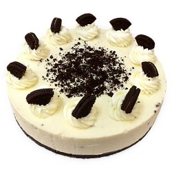 White forest with Oreo Biscuit Cake (2 Pounds)