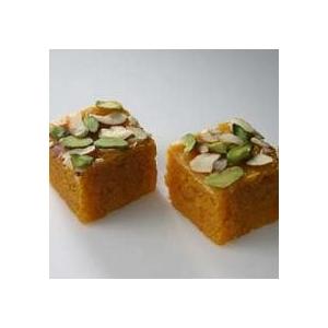 Kesar Mohanthal (Kandoi Sweets)