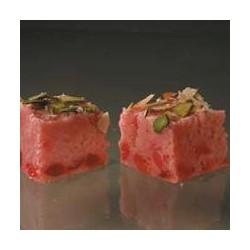 Red Cherry Barfi (Kandoi Sweets)