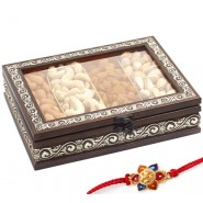 Ghasitaram Rakhi Special Mx Dryfruit Fancy Window Box 400gms
