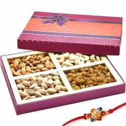 Ghasitaram Rakhi Special Mix Dryfruit Fancy Box