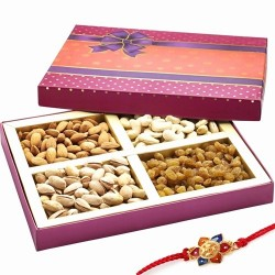 Ghasitaram Rakhi Special Mix Dryfruit Fancy Box