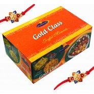 Ghasitaram Rakhi Special Gold Class Hamper-650gms