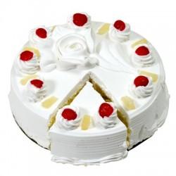 Pineapple Eggless Cake (Bake Hut)