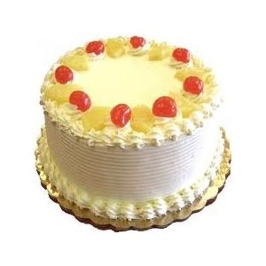 Pineapple Eggless Cake (Cakes & Bakes)