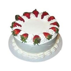 Strawberry Eggless Cake (Cakes & Bakes)
