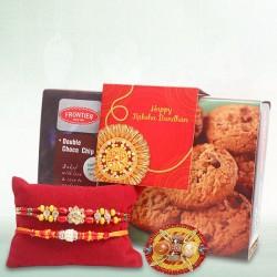 Chocolate Cookies with Rakhi