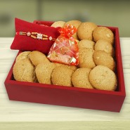 Special Butter Cookies with Rakhi