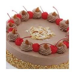 Chocolate Almond Cake 1 kg (Cake Walk)