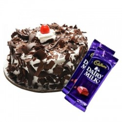 Blackforest Cake n Dairy milk combo2