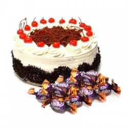 Blackforest Cake n  25 eclairs combo