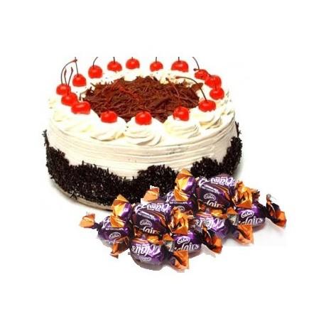 Blackforest Cake n  25 eclairs combo